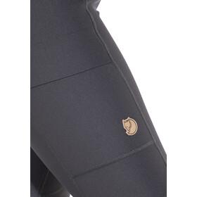 Fjällräven Abisko Trekking - Pantalones Mujer - gris/negro